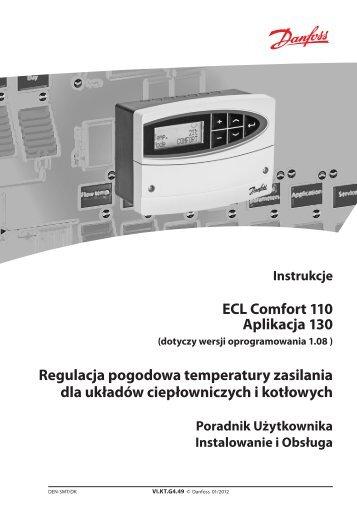 ECL Comfort 110 Aplikacja 130 Regulacja ... - Danfoss.com