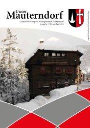 (3,71 MB) - .PDF - Marktgemeinde Mauterndorf