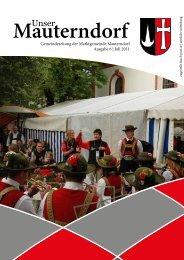 Juli 2011 - Marktgemeinde Mauterndorf