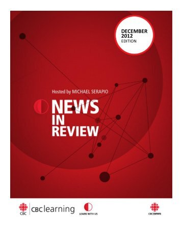 DECEMBER 2012 - News in review - CBC Learning