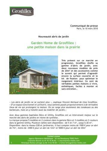 ABRI UTILITY 7.5 - Grosfillex Garden Home