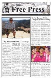 eFreePress 10.29.09.pdf - Blue Rapids Free Press