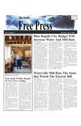 eFreePress 07.09.09.pdf - Blue Rapids Free Press