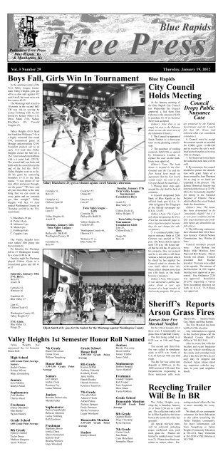 eFreePress 01.19.12.pdf - Blue Rapids Free Press