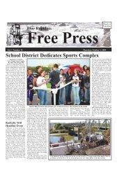 eFreePress 10.01.09.pdf - Blue Rapids Free Press