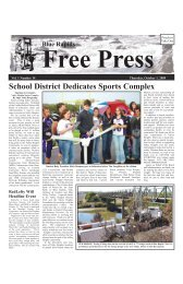 eFreePress 10.01.09.pdf - Blue Rapids Free Press