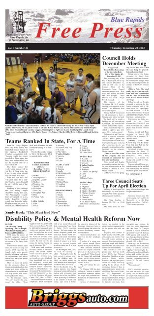 eFreePress 12.20.12.pdf - Blue Rapids Free Press