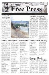 eFreePress 02.18.10.pdf - Blue Rapids Free Press