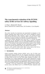 The experimental evaluation of the EGNOS SoL for railway ...