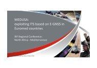 MEDUSA IRF Regional Conference March 2013.pdf - Telespazio