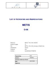 list of acronyms and abbreviations - Projet EuroMed Transport