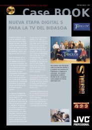 NUEVA ETAPA DIGITAL S PARA LA TV DEL BIDASOA - JVC