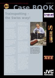 Case BOOK Trainspotting - the Swiss way! - JVC