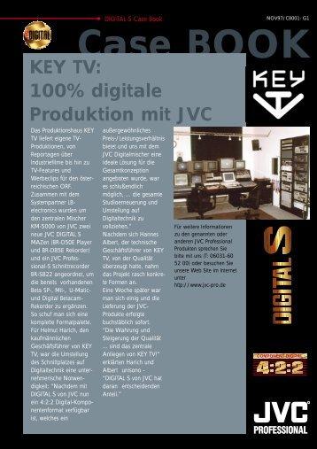 KEY TV: 100% digitale Produktion mit JVC
