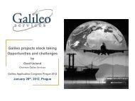 Galileo Services