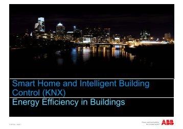 (KNX) Energy Efficiency in Buildings