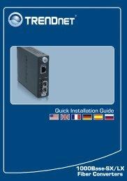 1000Base-SX/LX Fiber Converters Quick Installation Guide