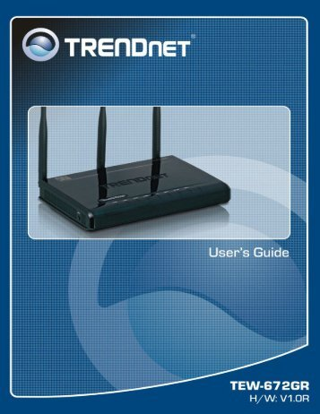 tew 641pc tew 643pi trendnet rh yumpu com TRENDnet AC Router Manual Positioning Stage
