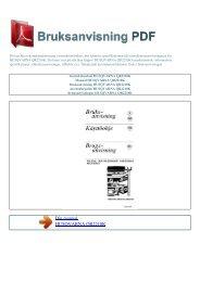 Instruktionsbok HUSQVARNA QR2210K - BRUKSANVISNING PDF