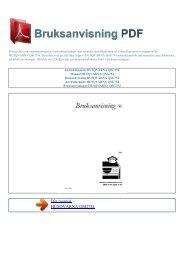Instruktionsbok HUSQVARNA QSG754 - BRUKSANVISNING PDF