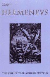 HERMENEUS jrg 59-1987 nummer 4 - Tresoar