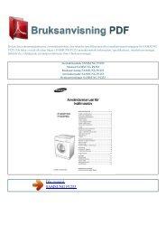 Instruktionsbok SAMSUNG P1253 - BRUKSANVISNING PDF