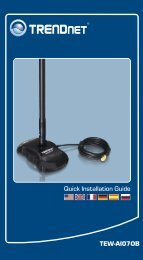 TEW-AI07OB Quick Installation Guide - TRENDnet