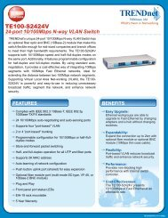 TRENDnet 16-Port 10//100Mbps Compact Ethernet Switch TE100-S16E+ Blue