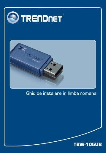 TBW-105UB Ghid de instalare in limba romana - Downloads ...