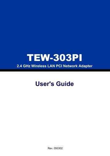 TEW-303PI - TRENDnet