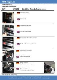 Navi Fiat Grande Punto - AMS Hagen