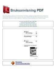Instruktionsbok HUSQVARNA QR221RX - BRUKSANVISNING PDF