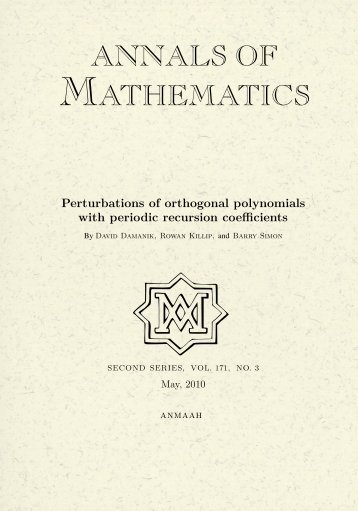 how to find orthogonal polynomials