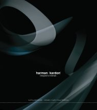 KATALOG 2008 HOME / CAR / MULTIMEDIA KA T ALOG ... - NCS HiFi
