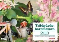 Trädgårdsbarometern 2013 - Cision