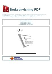 Instruktionsbok LG F1448TDP1 - BRUKSANVISNING PDF