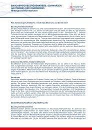 BAUCHSPEICHELDRÜSENKREBS ... - Antisense Pharma