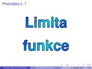 Limita funkce