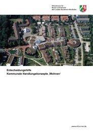 Entscheidungshilfe Kommunale ... - MBWSV NRW