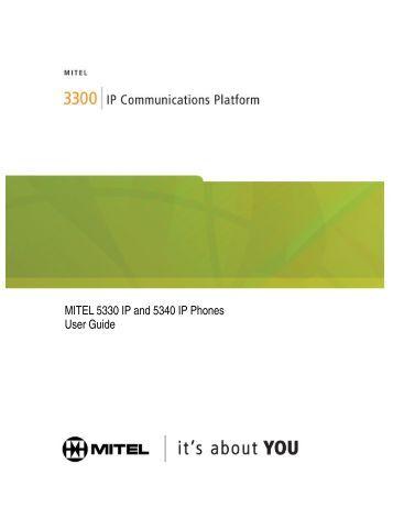 mitel 5312 ip phone guide