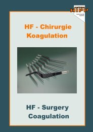 HF - Chirurgie Koagulation HF - Surgery Coagulation - Anton Hipp