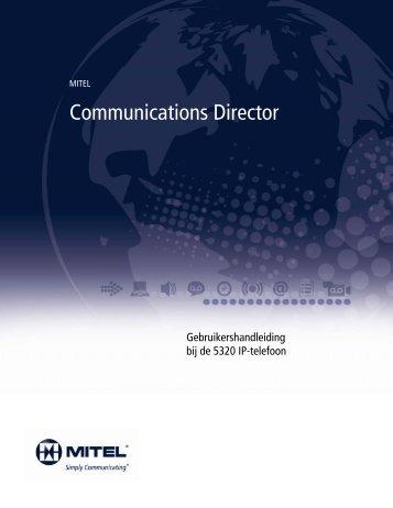 5320 IP-telefoon Gebruikershandleiding - Mitel Edocs