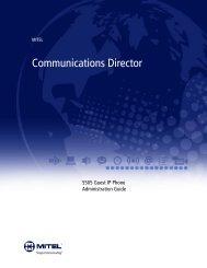 5505 Administration Guide - Mitel Edocs