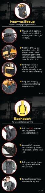 Internal Setup Backpack - Shopatron
