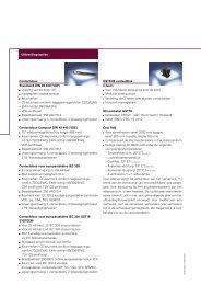 Contactdoos Standaard DIN 49 440 (VDE) Draaiing van ... - MaxData