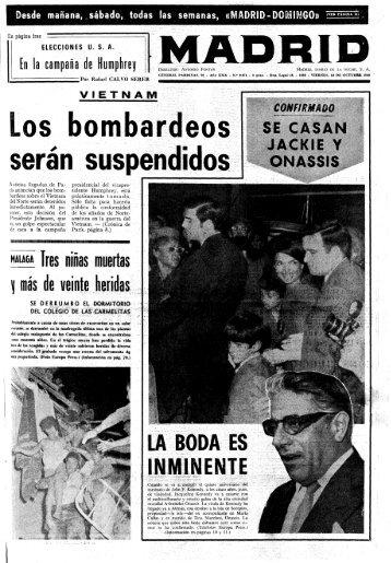 Madrid 19681018 - Home. Fundación Diario Madrid