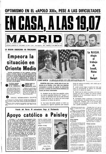 Madrid 19700417 - Home. Fundación Diario Madrid