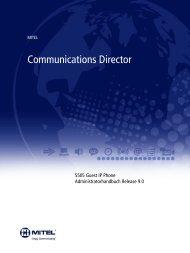 5505 Guest IP Phone-Administratorhandbuch - Mitel Edocs