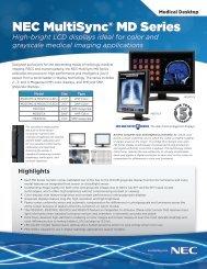LED-Backlit Medical Diagnostic Monitor