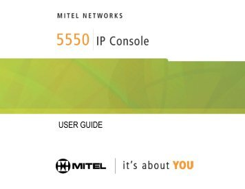 Mitel 5000 attendant console software 2012.